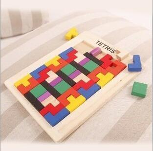 Let's make Montessori Toys Baby Kids Wooden Learning Thinking Toys Puzzle Children Early Learning 3D Shapes Wood Jigsaw Puzzles new children kids puzzle learning developmental versatile flap abacus wooden toys wood educational learning cock tool fci