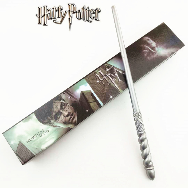 Cosplay Ginny Weasley Play Magical Magic Wand Gift In Box Metal Core Harry Potter Magical Wand