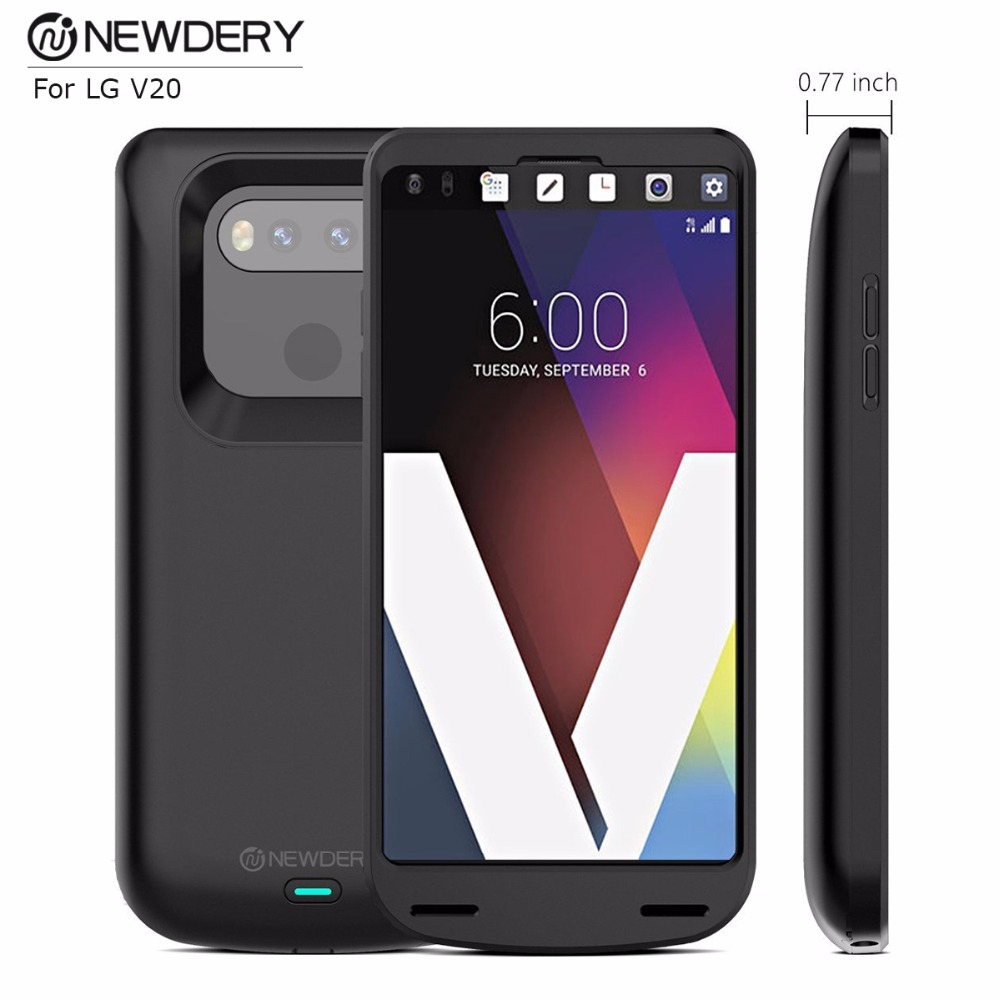 New Arrivals 2018 Power Bank Case for LG V20 5000mah high capacity Smart Battery Charger Case