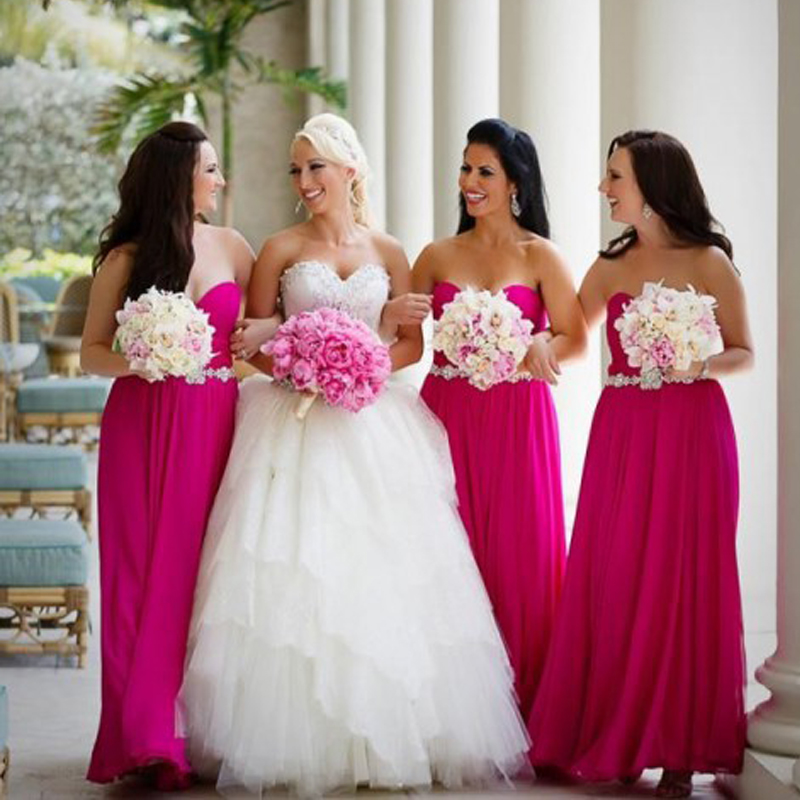 Fuschia Wedding Dresses - קנו זול Fuschia Wedding Dresses הרבה ...