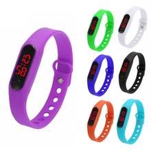 Women Bracelet Watches Brand Casual Rubber LED Sports Bracelet Digital Wrist Ladies Watch Clock relogio feminino