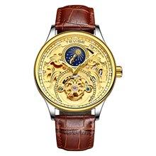 Tevise Top Brand Automatic Watch Men Mec