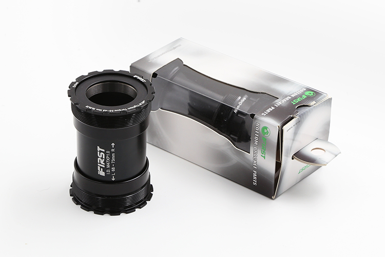 TAIWAN FIRST T47 Bottom Bracket Steel/ceramic  Bearings Black Including Tool