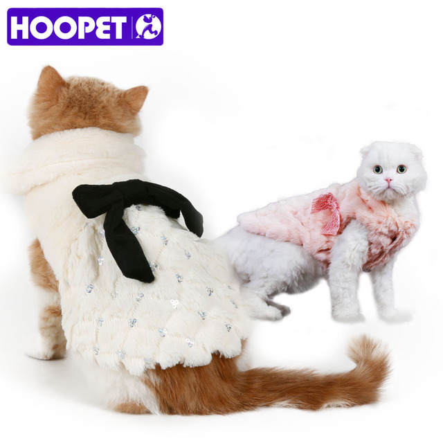 Elegant Luxury Fur Winter Overcoat for Dogs and Cats