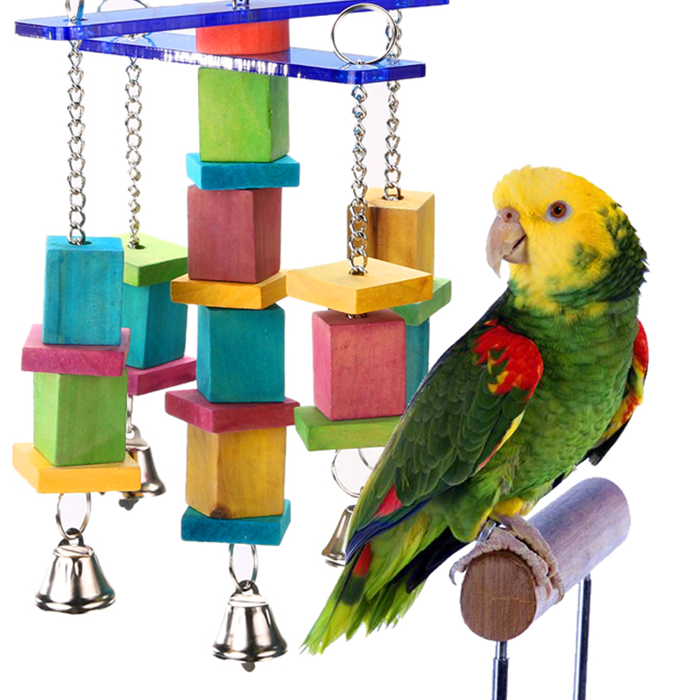 Wood Bird Toys : Wood bird toys handcraft non toxic eco friendly moveable