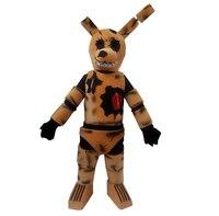 Five Nights At Freddy's Fnaf/игрушка жуткий Коричневый Кролик талисман костюмы для взрослых Рождество Хэллоуин