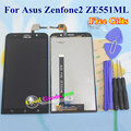 High Quality Touch Screen And LCD Display Digitizer Assembly For Asus Zenfone 2 ZE551ML 5.5 inch Phone 1920*1080 Black