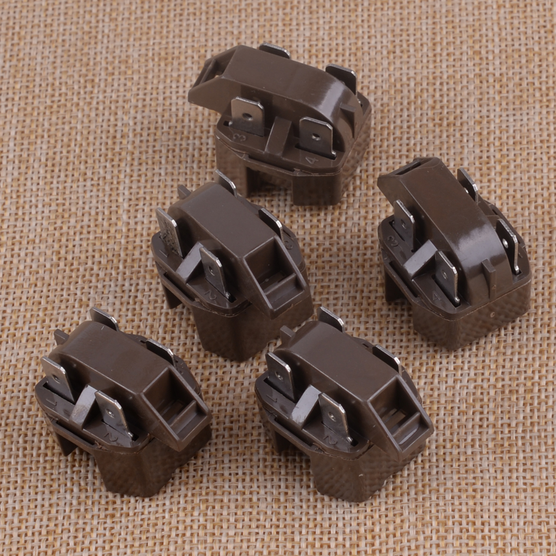 5pcs PTC 4 Pin Start Relay IC-4 Fit For Refrigerator Freezer Compressor Appliance Parts 2262185