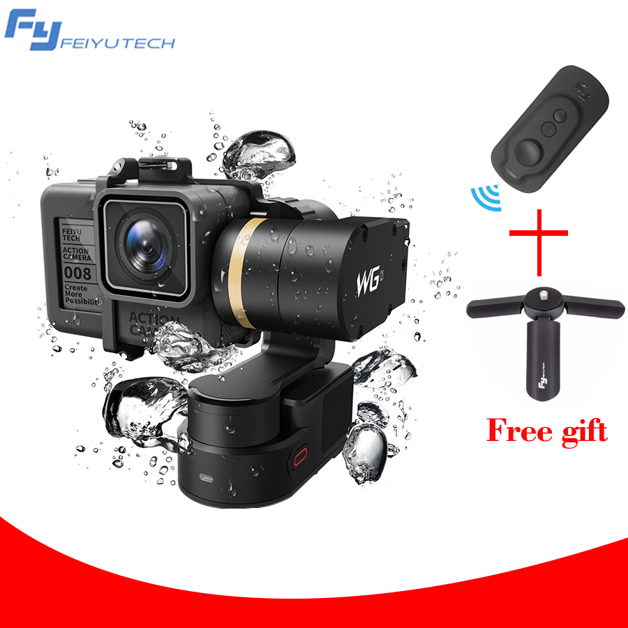FEIYU TECH FY WG2 Waterproof Gopro Wearable Gimbal Stabilizer for Gopro hero and Gopro Session with mini tripod цены