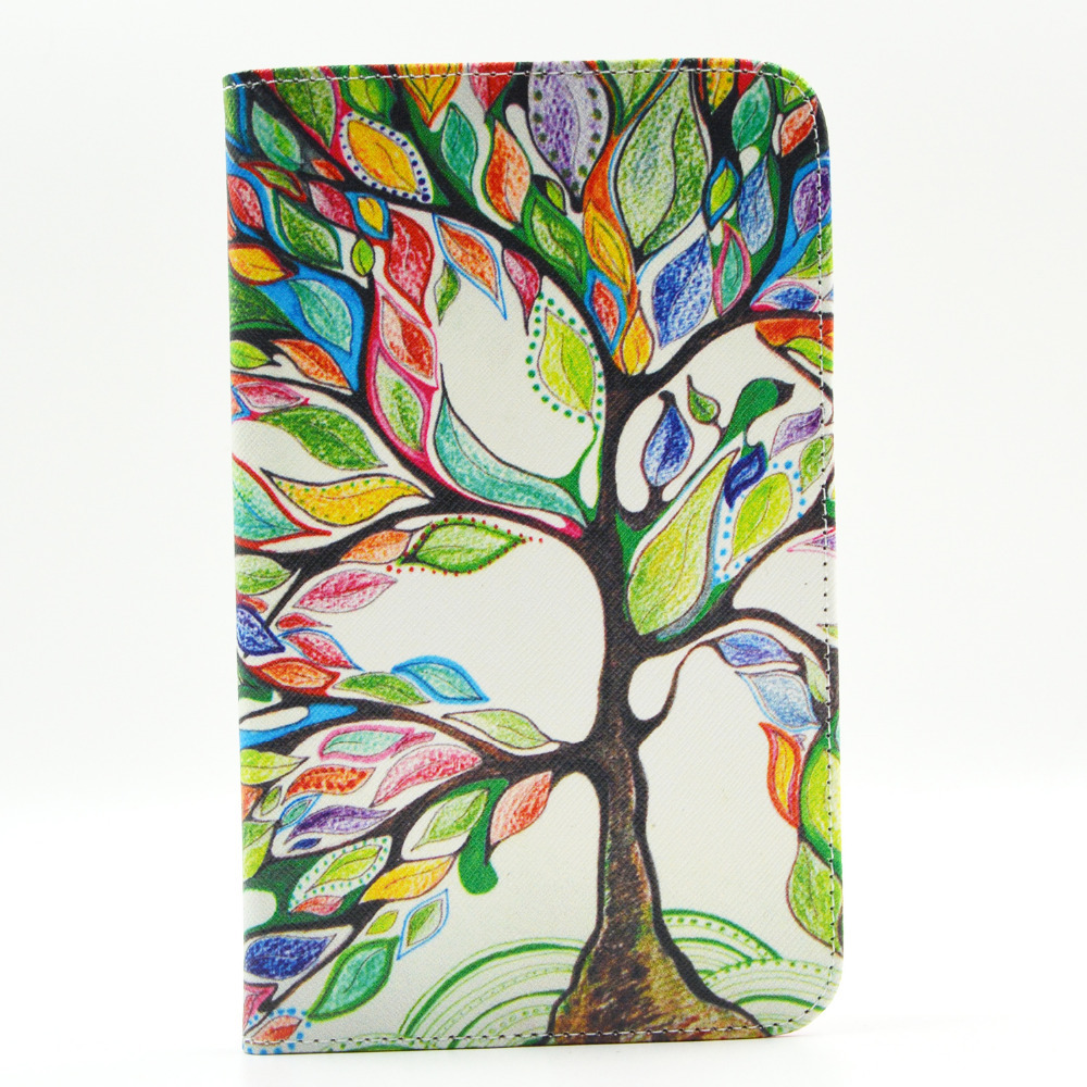 Fashion Tablet PC Leather Cover Stand Case For Samsung Galaxy Tab 4 7.0 inch T230 Case with Card Holder Free shipping