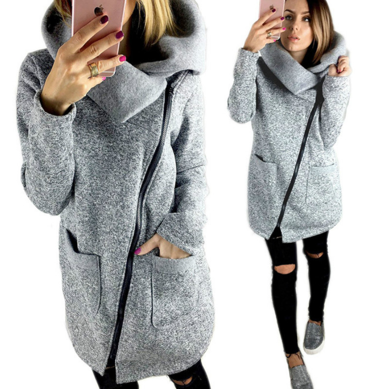 Fleece Femme Coat S-5XL Oversized Autumn Winter Jackets Coat