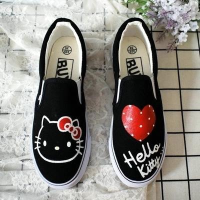 Hello Kitty Slip-on Sneakers