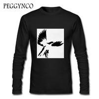 Hollywood Undead Bird Pigeon DIY Men T Shirt Funny Autumn Men 2017 New Brand T Shirt