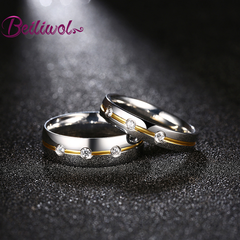 Stainless Stainless Retro Women Finger Rings With Stone Engraved Name Mens Accessories Hot Items Set Engagement Rings