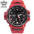 SMAEL Man Watches With High Definition LED Quartz Dual Display Time For Men Style 1626