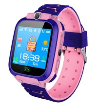Waterproof Kids Smart Watch SOS Antil-lost Smartwatch Baby 2G SIM Card Clock Call Location Tracker PK Q50 Q90 Q528