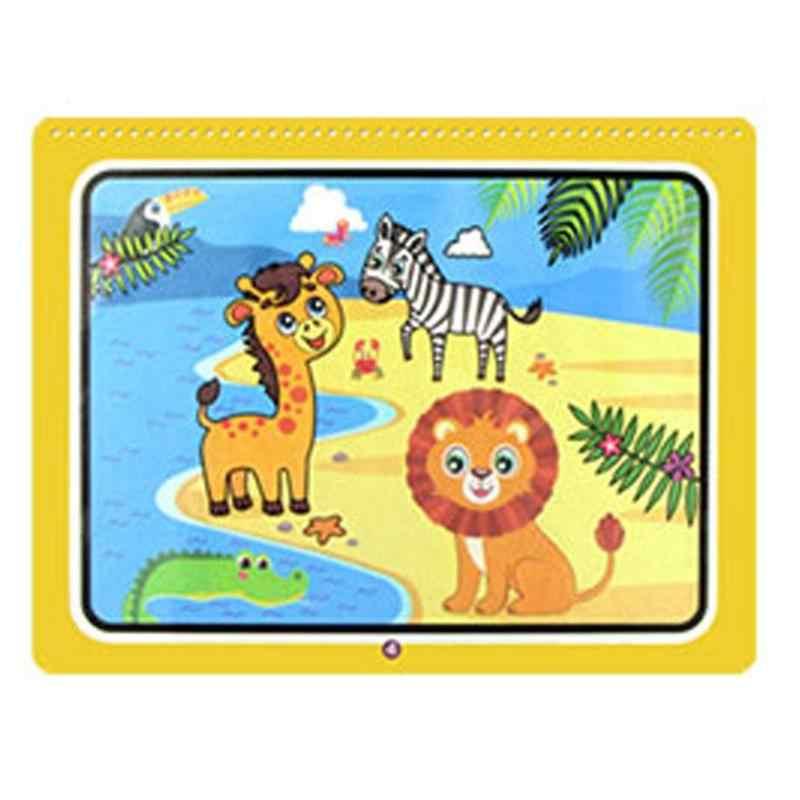 1Set Montessori Libro Da Colorare Doodle & Magic Pen Pittura Tavolo Da Disegno Per Bambini Giocattoli Magia Acqua Disegno Libro Di Compleanno regali