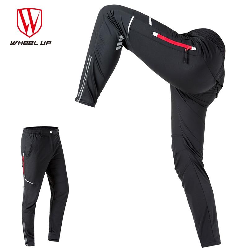 Spring Men Cycling Pants Long Sport Pants mtb Road Bike Breathable Reflective Cycling Long Trousers Bicycle