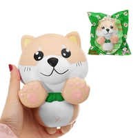 Portable 15CM Phone Strap For Squishy Slow Rising Kids PU Simulation Large Angel Dog Toys Original