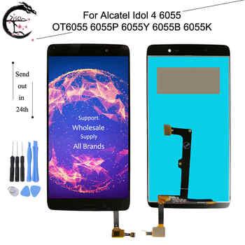 2610 mAh TLp026EJ batería para ALCATEL ONE TOUCH IDOL 4 6055 K TLp026E2  OT-6055 Idol 4 6055B 6055 H