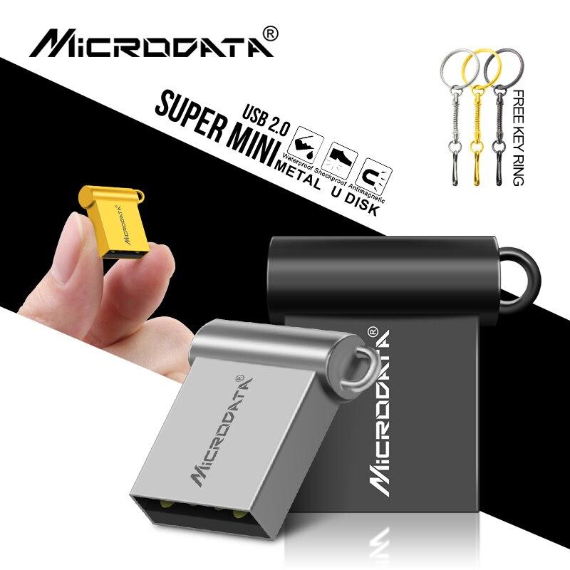 hot sale usb flash drive 32GB 4GB 8GB Super Mini metal 16GB pen Drive 64GB usb 2.0 flash stick pendrive cle usb
