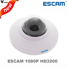 free shipping Escam HD3200 Onvif 2MP  H.264 1080P ONVIF IP Bullet Outdoor camera IP66 Waterproof Mini Dome Camera butil in POE
