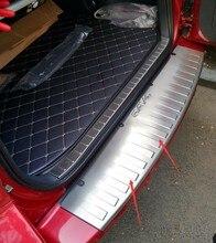 Защитная Накладка На Задний Багажник Отделка Крышки Порога Задней Двери Подоконник Стайлинга Автомобилей Для Toyota RAV4 2015