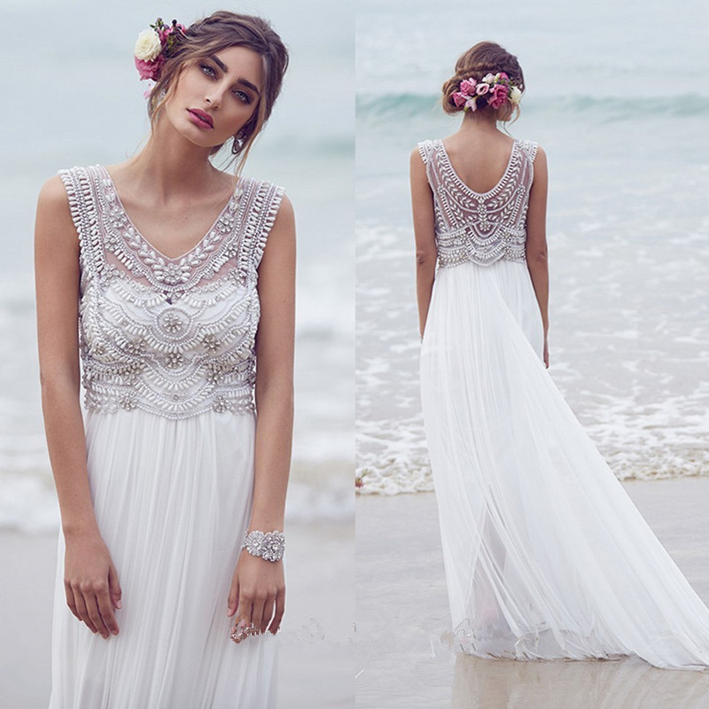 Chiffon wedding dress cheap