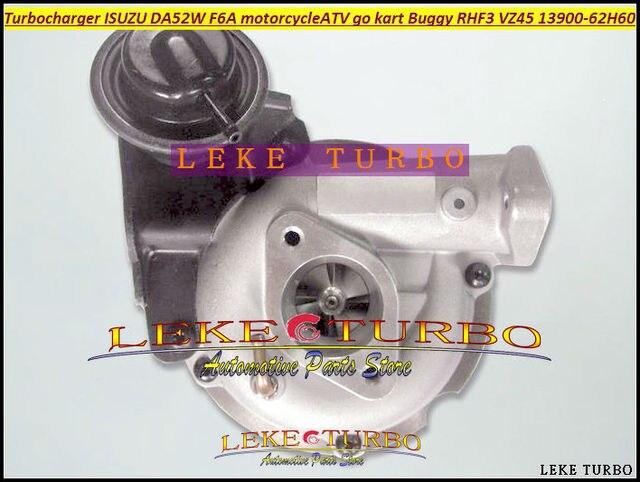 Que Rhf3 Vz45 13900 62h60 Turbo Turbocharger For Isuzu Da52w F6a Modifications Motorcycle