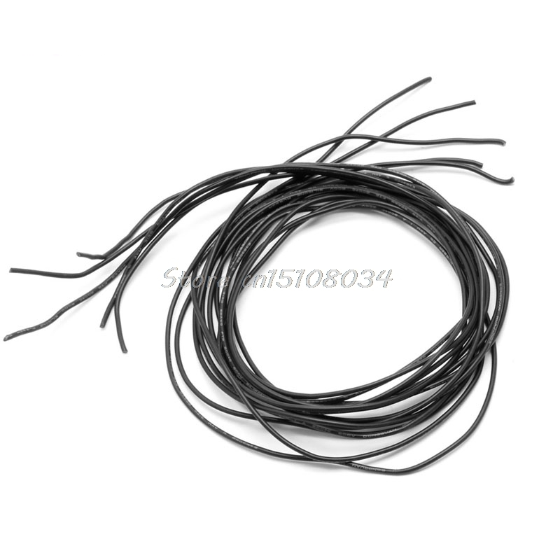 22 Awg 5m Gauge Silicone Wire Flexible Stranded Copper Cables For Rc