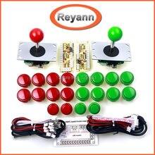 Wholesale prices Arcade Joystick DIY Kit Zero Delay USB Controller PC to Arcade Joystick + Push Buttons + Wire Harness for MAME & Raspberry Pi 3B