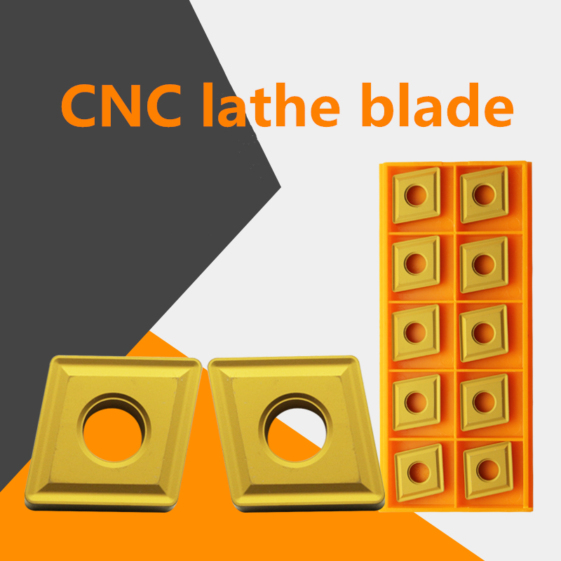YZ66 10pcs CNC Carbide Inserts CNMG190612 OC2025 For Steel Processing