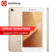 "Global ROM Original Xiaomi Redmi Note 5A 2GB RAM 16GB ROM Mobile Phone Snapdragon 425 Quad Core 5.5"" 3080mAh 13.0MP Camera(Hong Kong)"