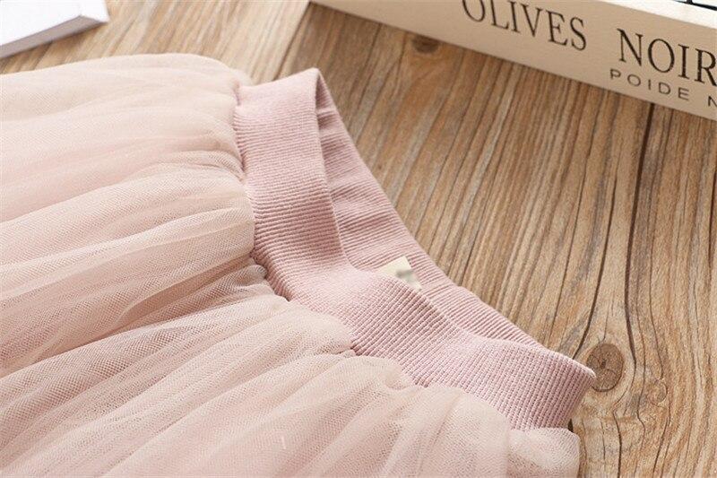 HTB1gtVNaIfrK1Rjy1Xdq6yemFXap Girls Clothing Sets 2019 Summer Princess Girl Bling Star Flamingo Top + Bling Star Dress 2pcs Set Children Clothing Dresses