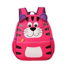 Toddler Kids mochilas Kindergarten tigre bolso pequeño para bebé y niño rugzak