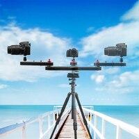 Профессиональный мини легкий портативный 4 раза расстояние Видео слайдер DSLR камера слайдер для фотографии