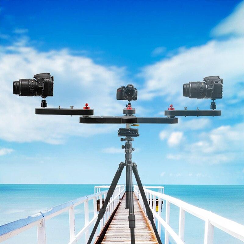 Mini curseur professionnel léger portable 4 fois distance curseur vidéo DSLR caméra curseur pour la photographie