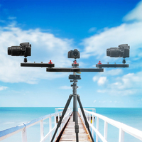 Professional mini lightweight portable 4 times distance video slider DSLR Camera slider for photography