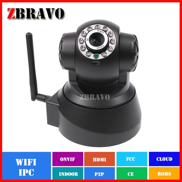 ФОТО IP Camera indoor Wireless WiFi Security CCTV Dual Audio CMOS 1.0megapixel Baby Monitor Free Phone APP 720P PTZ Camera Pan/Tilt