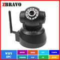 IP Camera indoor Wireless WiFi Security CCTV Dual Audio CMOS 1.0megapixel Baby Monitor Free Phone APP 720P PTZ Camera Pan/Tilt