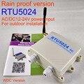 Защита от дождя DC версия Беспроводная автоматическая дверь раздвижные ворота открывалка RTU5024 GSM ворот релейный переключатель дистанционно...