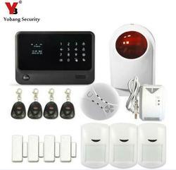 Yobang Security- Sistema Alarma Wifi SMS Alarm IOS Android APP Burglar Alarm System Wireless 433MHZ GSM SMS Home Security Alarm