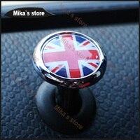Hight Qulity 1pcs For Mini Cooper All Series Car Styling Car Door Pin Lock Carbon Fiber