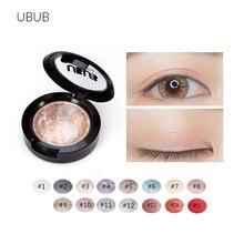 1PCS Quality 15 Color UBUB Professional Nude eyeshadow palette makeup matte Eye Shadow palette Make Up