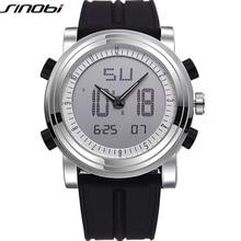 SINOBI Sport Watches for Men Silicone Strap Brand Digital-Watch 2016 noctilucous Waterproof Luxury Watch Men Relogios Masculinos