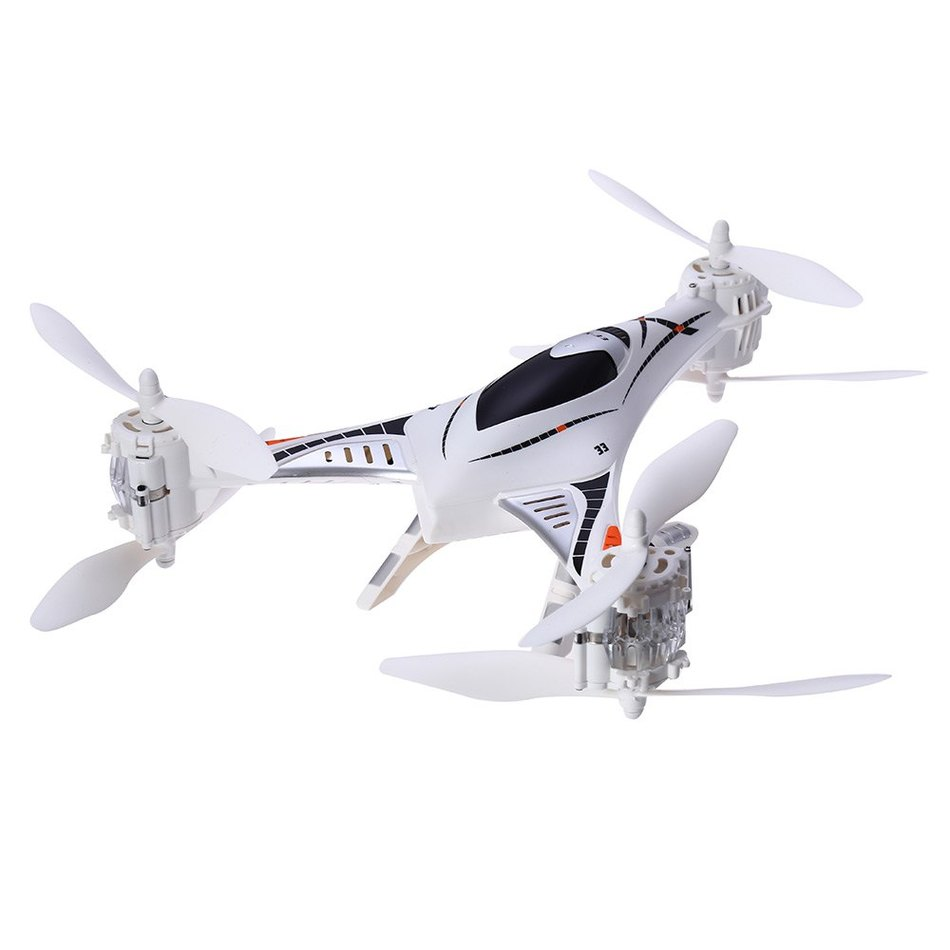 Cheerson CX-33S CX33S Drone RC Models Toys 2.0MP HD Camera 5.8G 4CH 6-axis FPV With High Hold Mode RC Tricopter With LED Light cheerson cx 10wd cx10wd mini wifi fpv with high hold mode 2 4g 6 axis phone wifi control mode rc quadcopter rtf fun toys drone