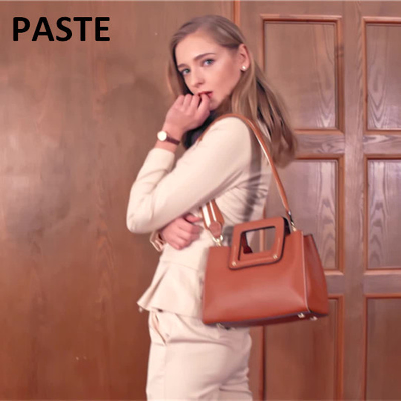 Luxury Women Genuine Leather Bag lady Messenger Bags Handbags Famous Brand Designer totes Female Handbag Shoulder Bag Sac a main new women bag luxury alligator pu leather women handbags high quality famous designer handbag female shoulder bags sac a main