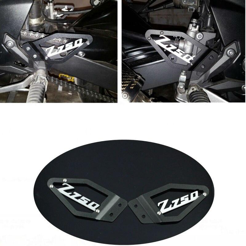 los angeles latest fashion on sale € 24.69 30% de réduction KEMiMOTO Z750 pied cheville plaques de talon  protecteur de protection pour Kawasaki Z750 2007 2008 2009 accessoires de  moto ...