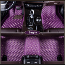 Custom car floor mat For Mazda Miata MX-3 MX-5 MX-6 CX-3 CX5 2017 2018 2019 carFoot pad waterproof rugs accessory car-styling стоимость