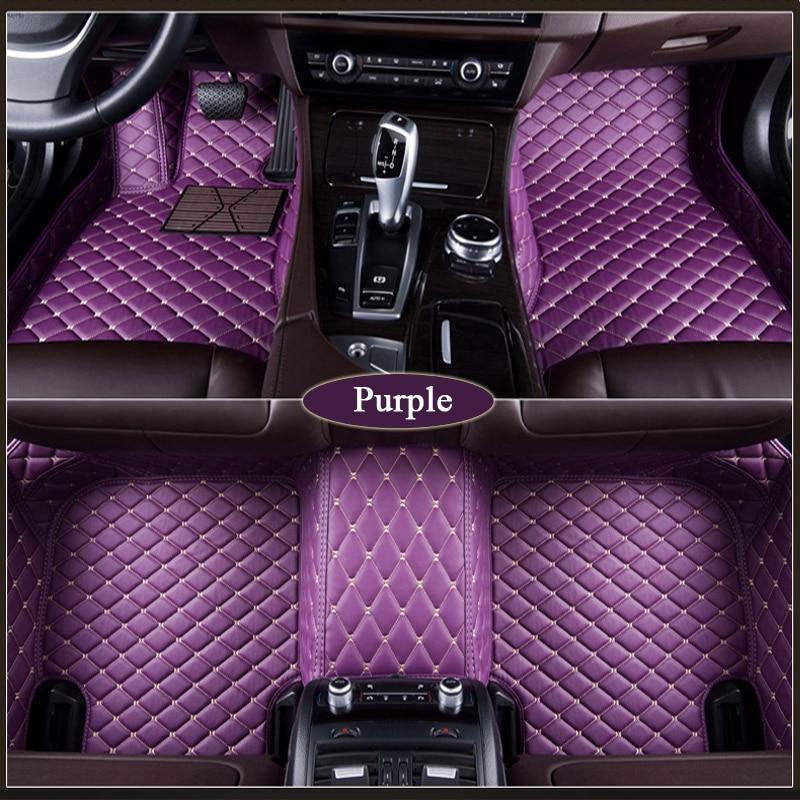 Personalizzato tappetino auto Per Mazda Miata MX-3 MX-5 MX-6 CX-3 CX5 2017 2018 2019 carFoot pad impermeabile tappeti accessorio auto-styling